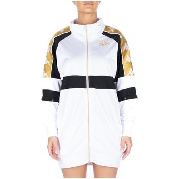 Vêtements Femme Robes courtes Kappa 222 BANDA 10 BANIK 913-white-black-yellow