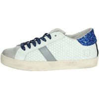Chaussures Garçon Baskets basses Date HILL LOW  JR Platine