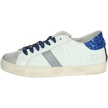 Chaussures Garçon Baskets basses Date HILL LOW  JR Platine