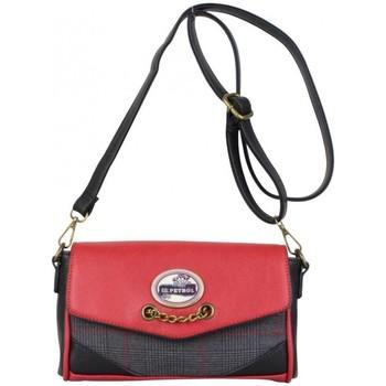 Sacs Femme Sacs Bandoulière Lili Petrol Petit sac  EM rouge motif écossais gris Multicolor