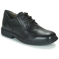 Chaussures Garçon Derbies Geox J FEDERICO M Black