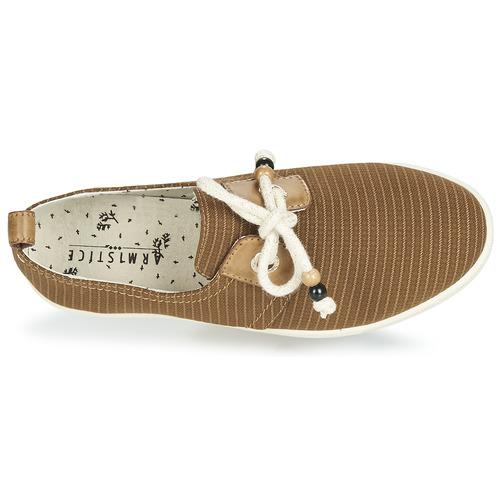 Armistice Stone One Marron - Livraison Gratuite- Chaussures Baskets Basses Femme 63
