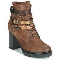 Chaussures Femme Bottines Metamorf'Ose FALENCIA Camel