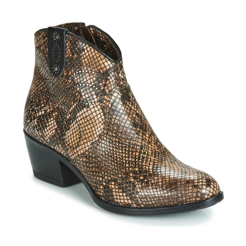 Chaussures Femme Boots Metamorf'Ose FALERS Python