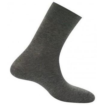 Accessoires Homme Chaussettes Kindy Chaussettes Pur Fil d'Ecosse pieds sensibles Gris chiné
