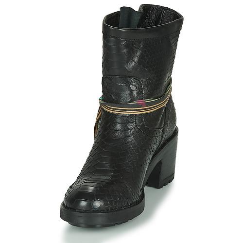 Bottines Felmini Noir Femme Chaussures Naha Nw8vmOn0