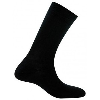 Accessoires Homme Chaussettes Kindy Mi-chaussettes homme jersey unie pur coton Noir