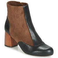 Chaussures Femme Bottines Chie Mihara MICHELE Noir / Marron