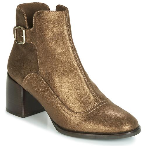Chaussures Femme Bottines Chie Mihara OMAYO Doré