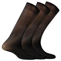 Accessoires textile Homme Chaussettes Kindy Lot de 3 mi-bas polyamide Noir