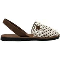 Chaussures Femme Sandales et Nu-pieds Popa granadella blanc&cuir 99012 Rouge