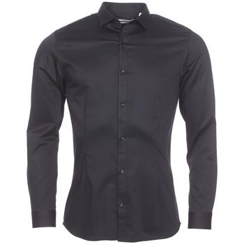 Vêtements Homme Chemises manches longues Jack & Jones Premium - chemise NOIR