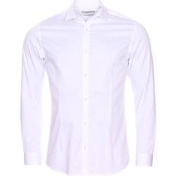 Vêtements Homme Chemises manches longues Jack & Jones Premium - chemise BLANC