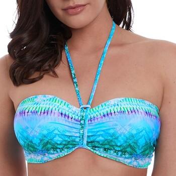 Vêtements Femme Maillots de bain séparables Freya Haut de bikini bandeau avec armatures Seascape blue lagoon Bleu