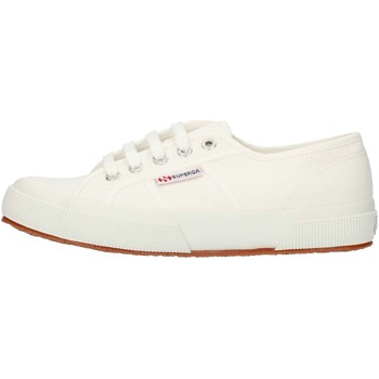 Chaussures Baskets basses Superga 2750S000010 faible Unisexe blanc blanc