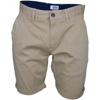 Vêtements Homme Shorts / Bermudas Tommy Jeans Bermuda  beige sable régular pour homme Beige