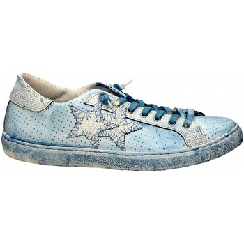 Chaussures Homme Baskets basses 2 Stars LOW PRINT bianco-blu