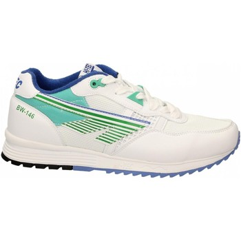 Chaussures Homme Baskets basses Hi-Tec BADWATER 146 white-green-purple