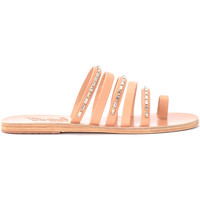 Chaussures Femme Sandales et Nu-pieds Ancient Greek Sandals Sandale Modèle Niki Diamonds en cuir Beige