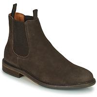 Chaussures Homme Boots Schmoove PILOT-CHELSEA Marron