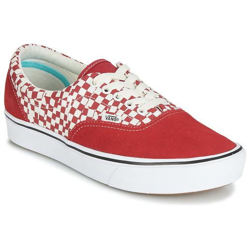 vans blanche et rouge