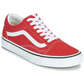 Chaussures Baskets basses Vans OLD SKOOL Rouge