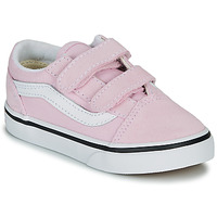 Chaussures Fille Baskets basses Vans TD OLD SKOOL V Rose