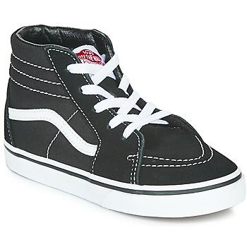 Chaussures Enfant Baskets montantes Vans TD SK8-HI Noir / Blanc