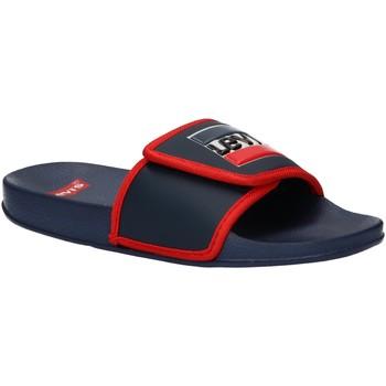Chaussures Garçon Claquettes Levi's VPOL0023S GAME Azul