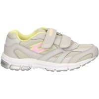 Chaussures Fille Baskets basses Lotto R6072 GRIS