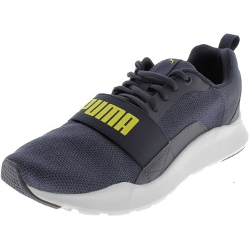 Chaussures Homme Baskets basses Puma WIRED KNIT BLU Bleu