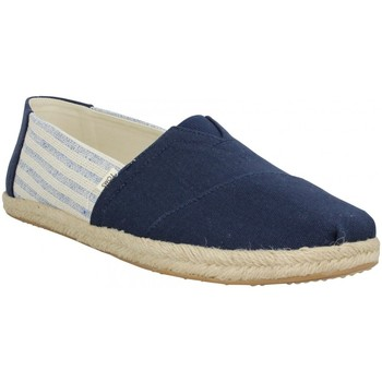 Chaussures Homme Espadrilles Toms Classic toile Homme Navy Stripes Navy Stripes