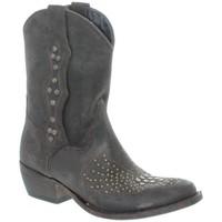 Chaussures Femme Bottines Sancho Boots Bottine femme ref_san34328-marron marron