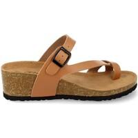 Chaussures Femme Pantalons fluides / Sarouels Silvian Heach M-28 Camel
