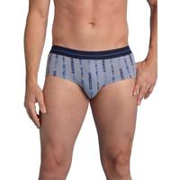 Sous-vêtements Homme Slips Honcelac Lot de 4 slips fermés taille haute assortis