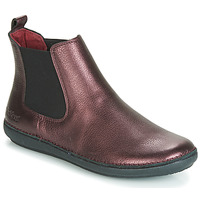 Chaussures Femme Boots Kickers FANTIN Violet