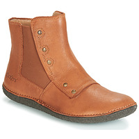 Chaussures Femme Boots Kickers HAPPLI Camel