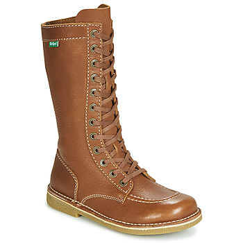 Chaussures Femme Bottes ville Kickers MEETKIKNEW Camel