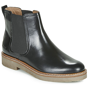 Chaussures Femme Boots Kickers OXFORDCHIC Noir