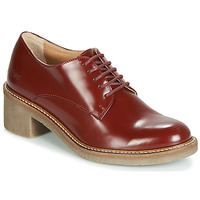 Chaussures Femme Derbies Kickers OXYBY Rouge