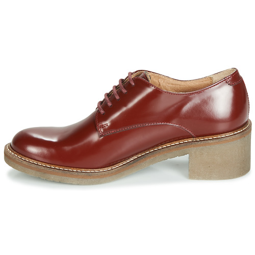 Kickers Rouge Femme Derbies Chaussures Oxyby cAqLS5j3R4