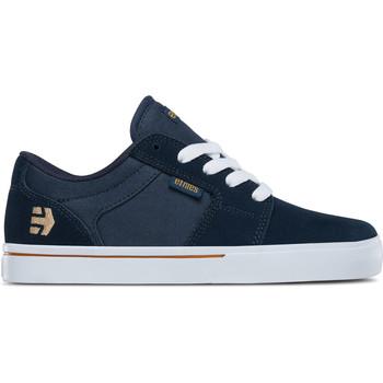 Chaussures Enfant Chaussures de Skate Etnies BARGE LS KIDS NAVY