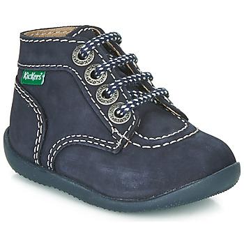 Chaussures Enfant Boots Kickers BONBON Marine