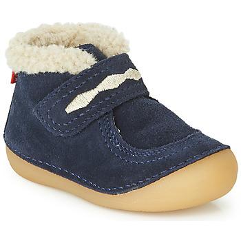 Chaussures Enfant Boots Kickers SOETNIC Marine