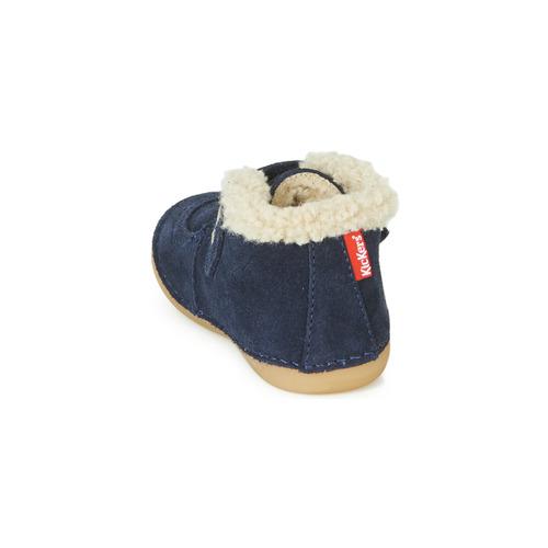 Chaussures Enfant Kickers Soetnic Marine Boots 35SRL4cqAj