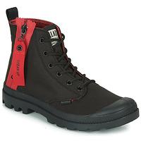 Chaussures Boots Palladium PAMPA UNZIPPED Noir