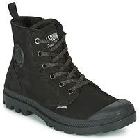 Chaussures Femme Boots Palladium PAMPA HI ZIP WL Noir