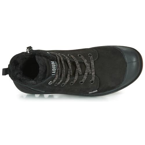 Pampa Boots Noir Hi Femme Palladium Zip Wl 5L3j4AR