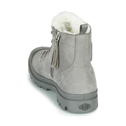 Zip Pampa Wl Boots Gris Palladium Femme Hi WEH2IDY9