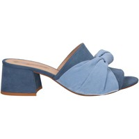 Chaussures Femme Claquettes MTNG 58417 Azul